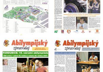Ukončení činnosti Abilympijského zpravodaje