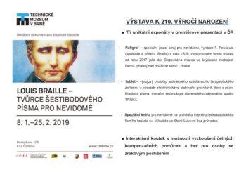 Louis Braille – výstava