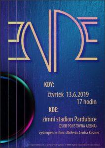 vystoupení pardubické hudební skupiny Endee