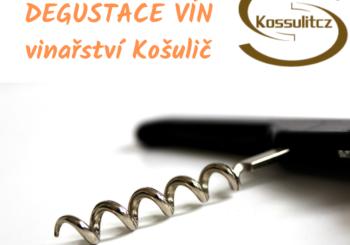 Degustace vín s vinařstvím Košlulič