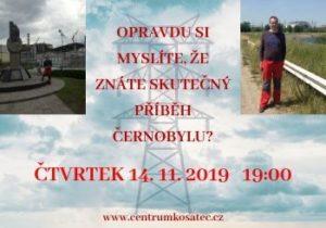 Cestovatelská přednáška o Černobylu