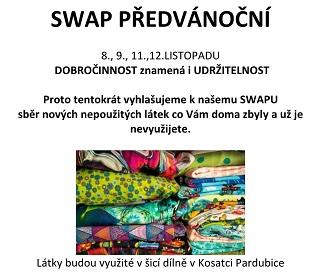 Swap oblečení Pardubice