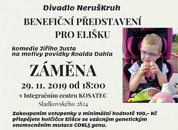 Benefiční divadelní představení pro Elišku Pardubice