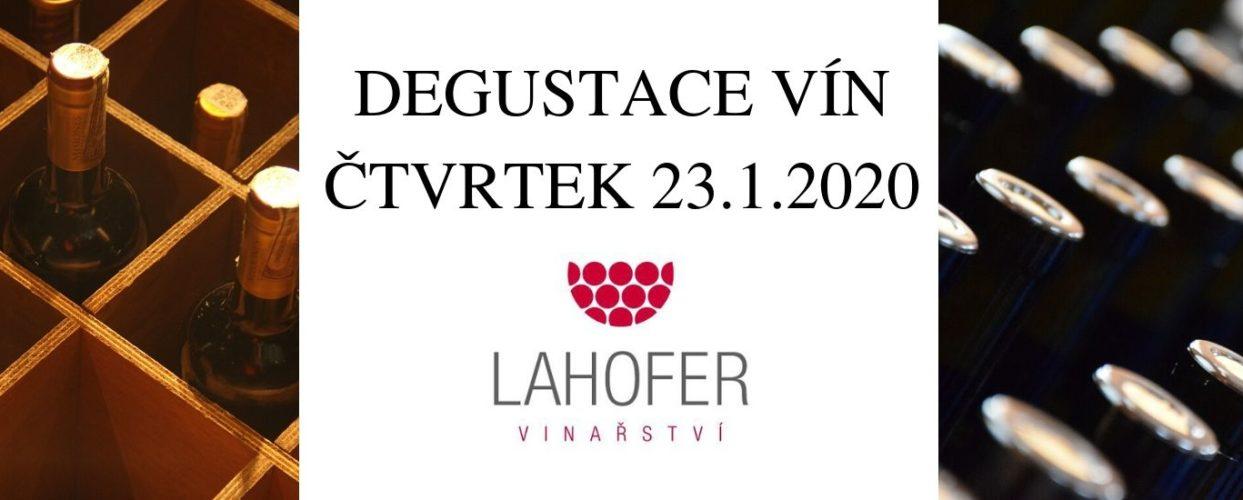 Ochutnávka vína s vinařstvím Lahofer