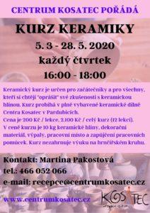 Kurz keramiky v Centru Kosatec Pardubice