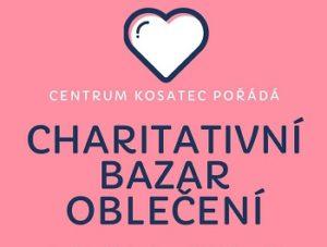 Charitativní bazar oblečení v Centru Kosatec Pardubice