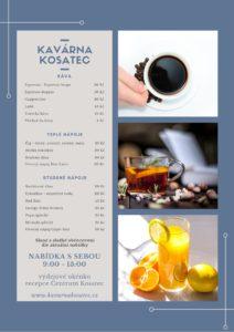 Kavárna Kosatec znovu otevřela