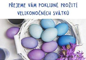 Klidné Velikonoce 2020 přeje Centrum Kosatec Pardubice