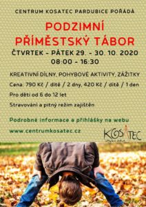 Zážitkový příměstský tábor Pardubice