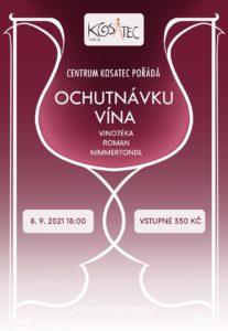 Ochutnávka vín 8. 9. 2021 v 18:00